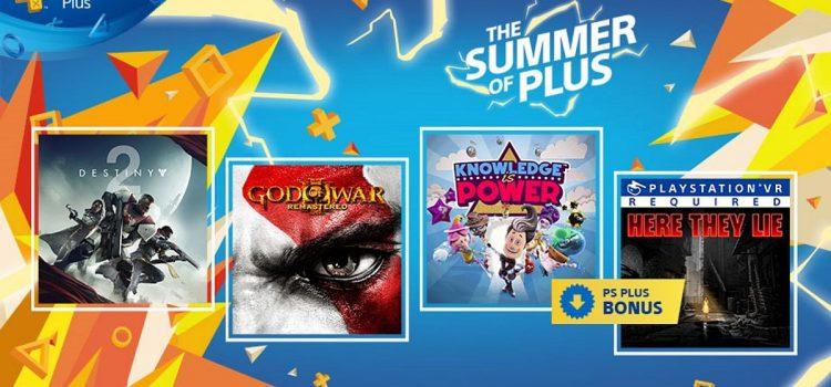 God of War III şi Destiny 2 sunt gratuite pe PS4 luna viitoare prin PlayStation Plus