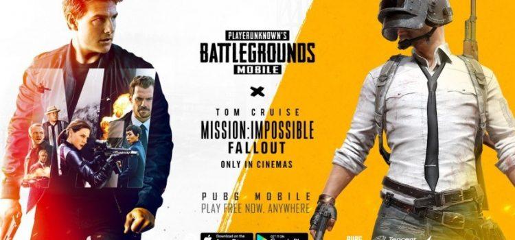 PUBG Mobile devine Mission Impossible Fallout printr-un crossover exclusiv