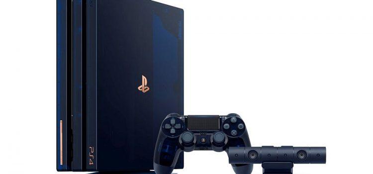 Sony sărbătoreşte 500 de milioane de unităţi Playstation vândute cu o ediţie specială de PS4 Pro – 500 Million