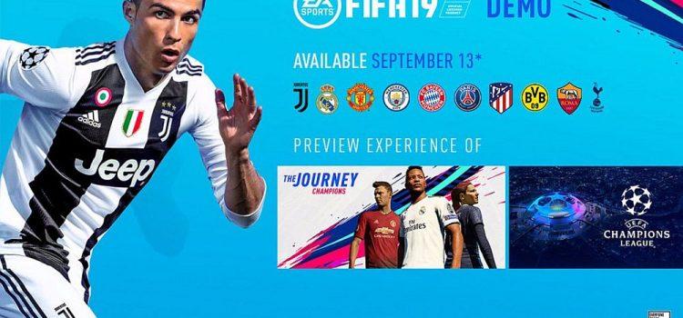 Demo-ul FIFA 19 se lansează pe 13 septembrie; Iată tot ce trebuie să ştii