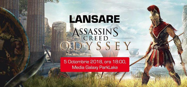 Assassin's Creed Odyssey se lansează oficial în România pe 5 octombrie, la Media Galaxy Park Lake