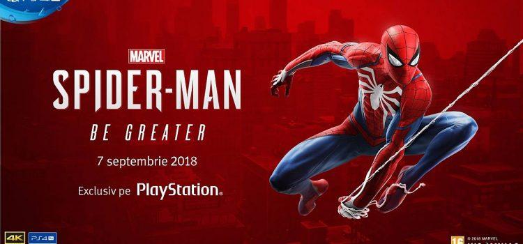 Marvel's Spider-Man se lansează în România pe 7 septembrie la Altex Promenada Mall