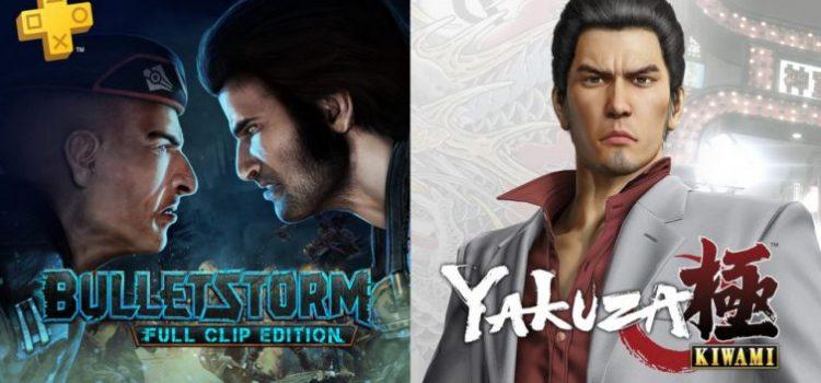Jocurile gratuite PS Plus ale lunii noiembrie: Yakuza Kiwami şi Bulletstorm