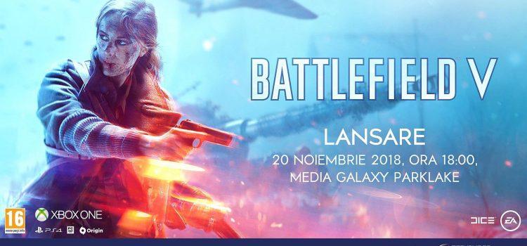 Battlefield V se lansează în România pe 20 noiembrie la Media Galaxy Park Lake