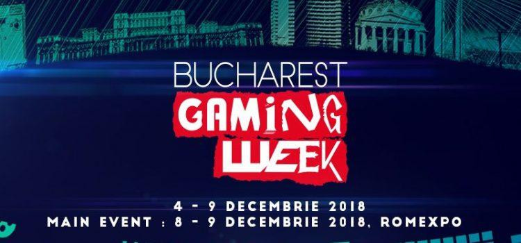 Tot ce trebuie să ştii despre Bucharest Gaming Week 2018
