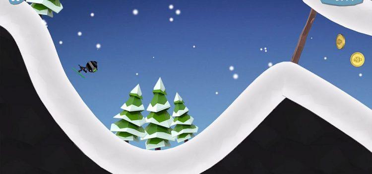Stickman Ski este încă un runner/platformer de iarnă, în care te dai pe pârtie