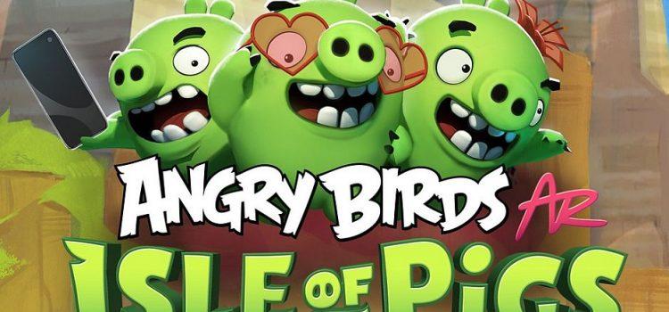 Angry Birds AR devine oficial: un soi de Pokemon Go combinat cu Jenga
