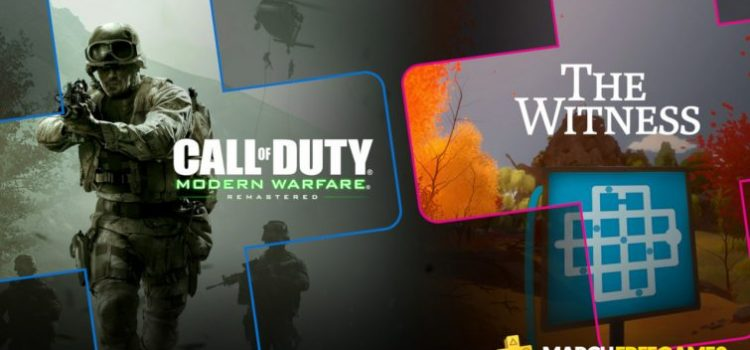 Jocurile gratuite PlayStation Plus din martie 2019: Call of Duty Modern Warfare Remastered şi The Witness
