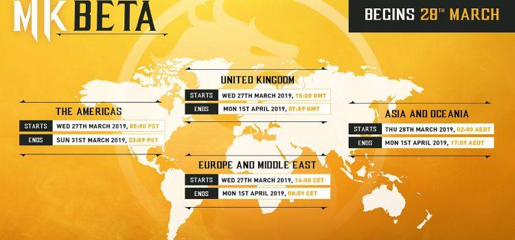 Mortal Kombat 11 beta detalii complete + trailer nou cu Johnny Cage
