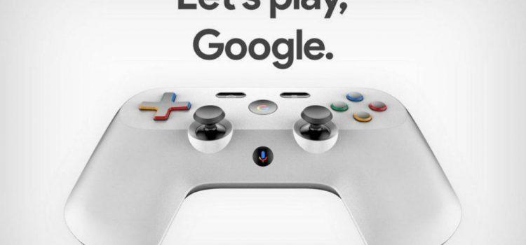 Aşa ar putea arăta joystickul Google pentru viitorul său produs/serviciu de gaming