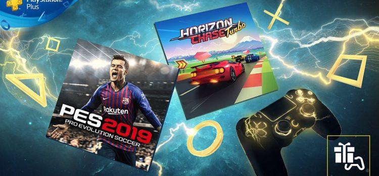 Jocurile gratuite PlayStation Plus din luna iulie sunt PES 2019 şi Horizon Chase Turbo