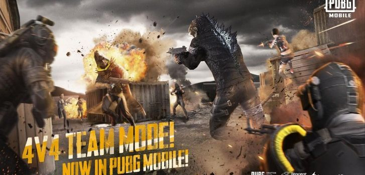 PUBG Mobile este actualizat cu un mod 4 vs 4 Team Deathmatch