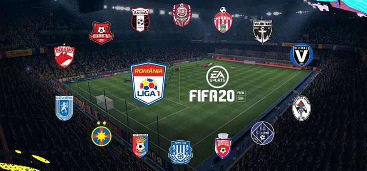 FIFA 20 va include echipele din Liga 1, plus fotbalişti români recreaţi autentic