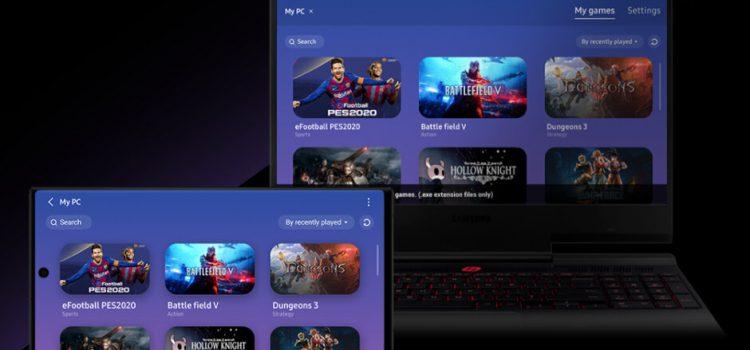 Poţi juca jocuri de PC pe telefon prin noua aplicaţie PlayGalaxy Link de la Samsung
