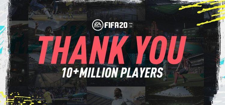 FIFA 20 ajunge la 10 milioane de utilizatori în 3 săptămâni de la lansare