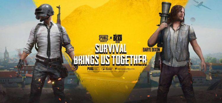 PUBG Mobile primeşte conţinuturi din serialul The Walking Dead