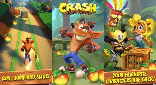 Crash Bandicoot vine pe mobil sub formă de endless runner de la producătorul Candy Crush